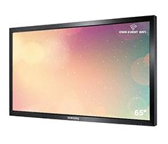 "65"" inch touchscreen"